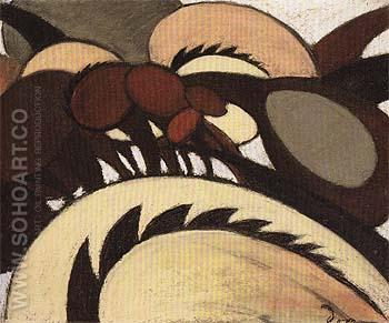 Team of Horses c1911 - Arthur Dove reproduction oil painting
