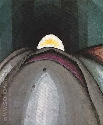 Penetration 1924 - Arthur Dove reproduction oil painting