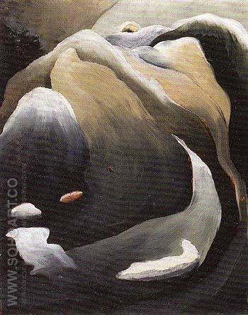 Waterfall 1925 - Arthur Dove reproduction oil painting
