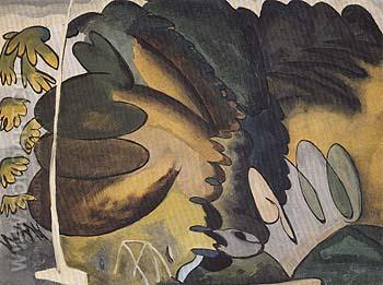 The Park 1927 - Arthur Dove reproduction oil painting