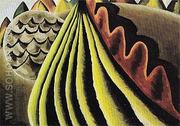 Fields of Grain as Seen from Train 1931 - Arthur Dove reproduction oil painting