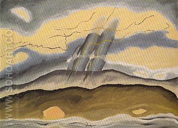 Sun Drawing Water 1933 - Arthur Dove reproduction oil painting