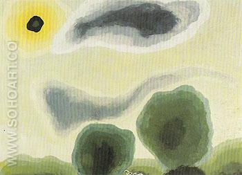 Naples Yellow Morning 1935 - Arthur Dove reproduction oil painting
