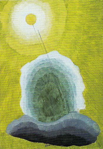 Golden Sun 1937 - Arthur Dove reproduction oil painting
