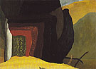 Holbrooks Bridge to Northwest 1938 - Arthur Dove reproduction oil painting