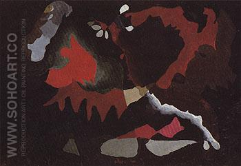 Swing Music 1938 - Arthur Dove reproduction oil painting