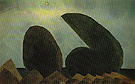 Long Island 1940 - Arthur Dove reproduction oil painting