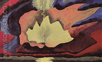 Thunder Shower 1940 - Arthur Dove reproduction oil painting