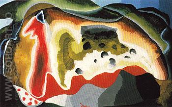 U S 1940 - Arthur Dove reproduction oil painting