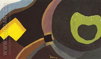 Flight 1943 - Arthur Dove reproduction oil painting