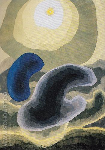 Partly Cloudy 1942 - Arthur Dove reproduction oil painting