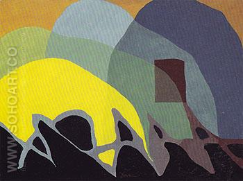 Dancing Willows 1943 - Arthur Dove reproduction oil painting