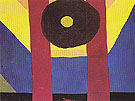 That Red One 1944 - Arthur Dove reproduction oil painting