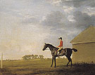 Gimcrack with John Pratt Up at Newmarket c1765 - George Stubbs reproduction oil painting