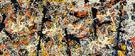 Blue Poles Right Detail - Jackson Pollock