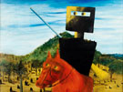 Kelly and Horse 1946 - Sidney Nolan