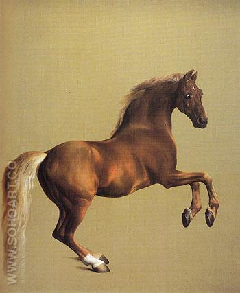 Whistlejacket 1762 - George Stubbs reproduction oil painting