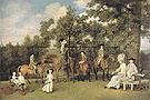The Wedgwood Family 1780 - George Stubbs reproduction oil painting