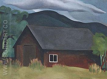 My Shanty Lake George 1922 - Georgia O'Keeffe reproduction oil painting