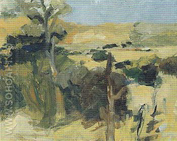 Landscape 1959 - Elmer Bischoff reproduction oil painting