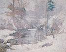Winter Harmony c1890 - John Henry Twachtman
