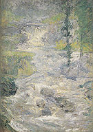 The Rainbows Source c1890 - John Henry Twachtman reproduction oil painting