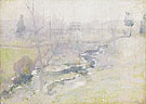 End of Winter 1889 - John Henry Twachtman reproduction oil painting