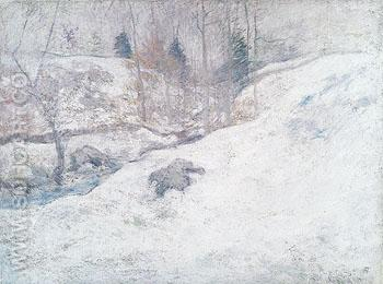 February c1890 - John Henry Twachtman reproduction oil painting