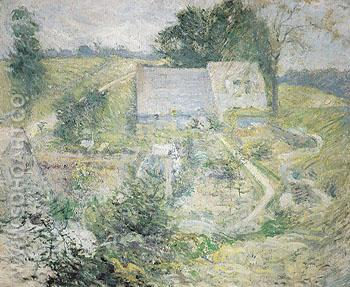 From the Upper Terrace c1890 - John Henry Twachtman reproduction oil painting