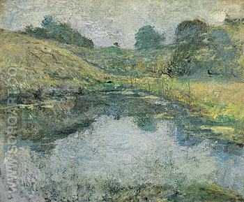 Spring Morning c1890 - John Henry Twachtman reproduction oil painting