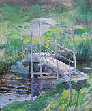 The White Bridge c1900 - John Henry Twachtman