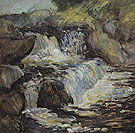 The Cascade 1890 - John Henry Twachtman