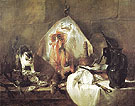 The Ray Fish 1725 - Jean Simeon Chardin reproduction oil painting