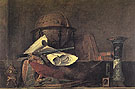 The Attributes of the Sciences 1731 - Jean Simeon Chardin reproduction oil painting
