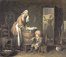 The Laundress 1733 - Jean Simeon Chardin