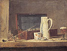 The Smokers Case c1737 - Jean Simeon Chardin