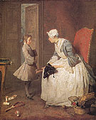 The Governess 1738 - Jean Simeon Chardin reproduction oil painting
