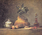 The Brioche 1763 - Jean Simeon Chardin reproduction oil painting