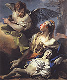 Hagar and Ismael in the Wilderness c1732 - Giovanni Barrista Tiepolo