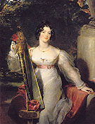 Portrait of Lady Elizabeth Conyngham c1821 - Sir Thomas Lawrence