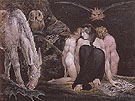 The Night of Enitharmons Joy C1795 - William Blake reproduction oil painting