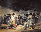 The Execution of the Rebels of 3 May 1808 1814 - Francisco de Goya ya Lucientes