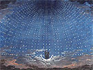 Set Design for The Magic Flute Starry Sky for the Queen of the Night 1815 - Karl Friedrich Schinkel reproduction oil painting
