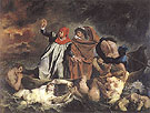 Dante and Vergil in Hell 1822 - F.V.E. Delcroix reproduction oil painting