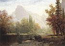 Half Dome Yosemite 1864 - Albert Bierstadt