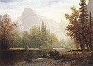 Half Dome Yosemite 1864 - Albert Bierstadt reproduction oil painting
