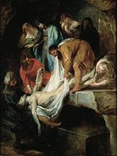 The Entombment c1615 - Peter Paul Rubens