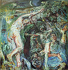 Hades and Persephone 1950 - Oskar Kokoshka reproduction oil painting