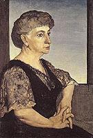 Portrait of the Artists Mother 1911 - Giorgio de Chirico