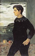 Portrait of the Artists Brother 1910 - Giorgio de Chirico